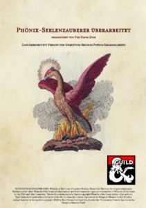 Phönix-Seelenzauberer | Veröffentlichung auf der DMs Guild