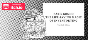 Lese-Rezension zu Paris Gondo – The Life-Saving Magic of Inventorying